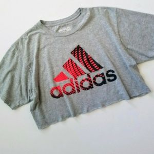 Vintage Adidas The Go To Crop Tee